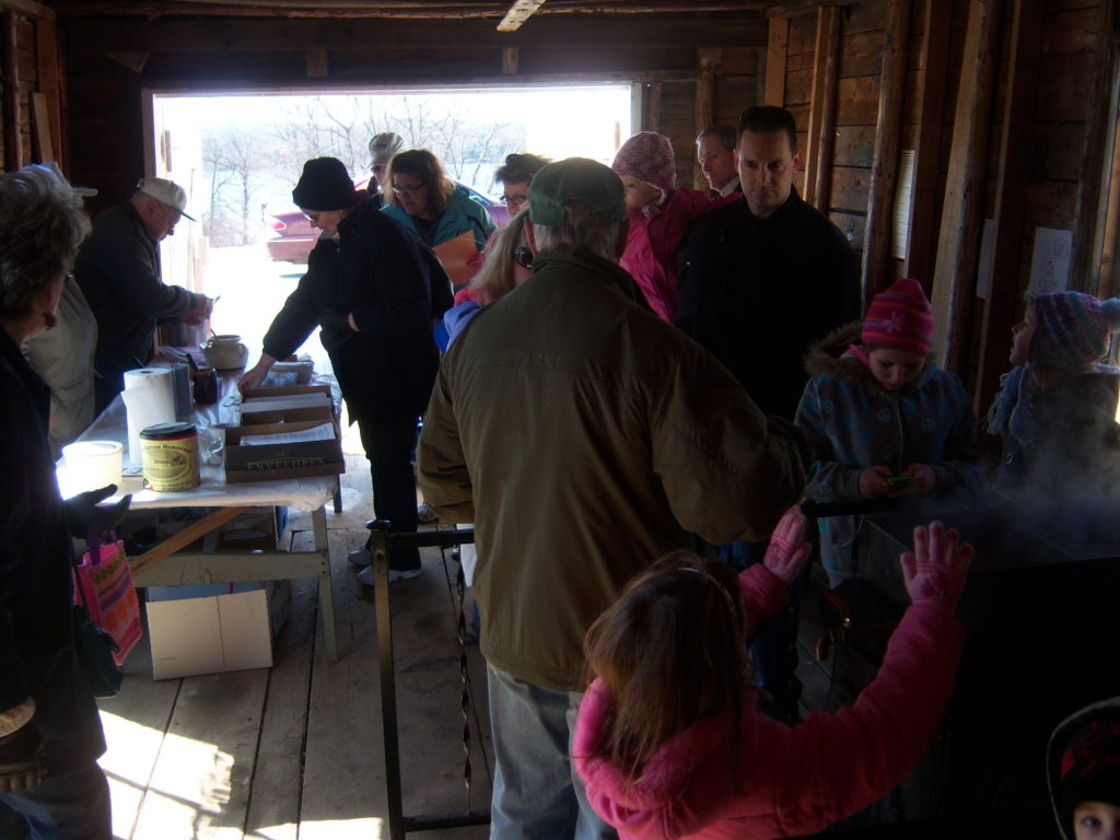 Saturday, March 18, 2017, 10AM-2PM: Sugaring Off Event and Irish Celebration @ Curran Homestead Village at Fields Pond | Orrington | Maine | United States