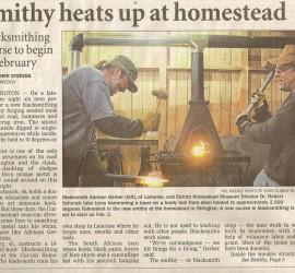 Smithy newspaper