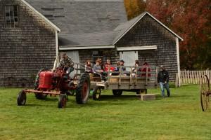 curran tractor ride