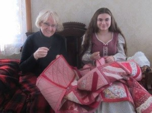 curran-quilt making